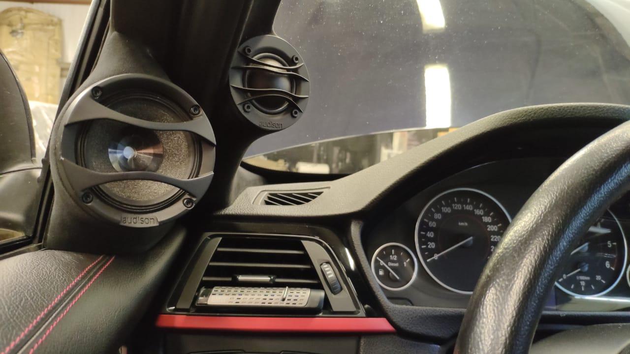 Автозвук настройка BMW F30