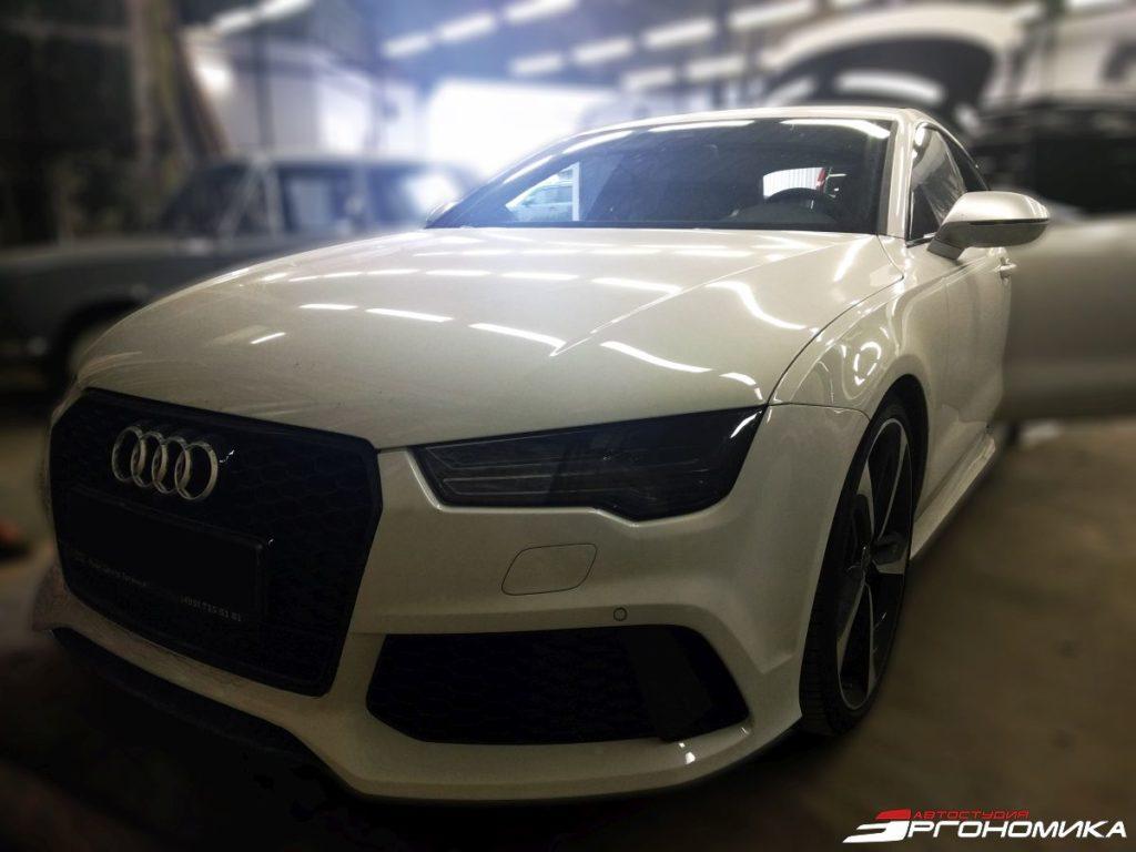 Автозвук в Audi RS7