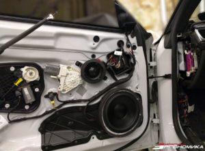 Замена динамиков в Audi RS7 на Morel Elate Titanium